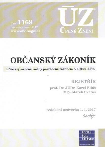 ÚZ 1169 / Občanský zákoník