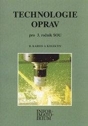 Technologie oprav pro 3. r. SOU - Náhled učebnice