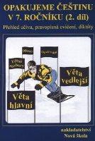 Opakujeme češtinu v 7. ročníku, přehled učiva, doplňovací cvičení, diktáty. (2. pololetí) - Náhled učebnice