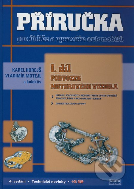 Příručka pro řidiče a opraváře automobilů I.díl - Náhled učebnice
