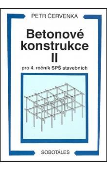 Betonové konstrukce II, pro 4. ročník SPŠ stavebních