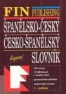 Spanelsko-cesky, cesko-spanelsky slovník