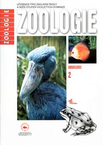 Zoologie, učebnice pro základní školy a nižší stupeň víceletých gymnázií. Obratlovci