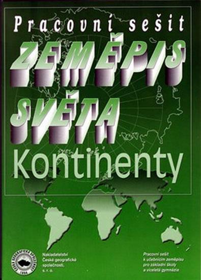 Zeměpis světa – kontinenty - Pracovní sešit - Náhled učebnice