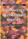 Organizace neziskového sektoru, základy ekonomiky, teorie a řízení - Náhled učebnice