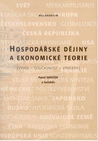 Hospodarske Dejiny A Ekonomicke Teorie - 5. Vydani - Náhled učebnice