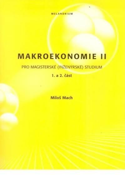 Makroekonomie II, pro magisterské (inženýrské) studium - Náhled učebnice