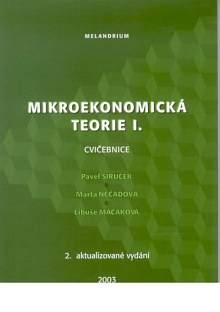 Mikroekonomická teorie I. Cvičebnice. - Náhled učebnice