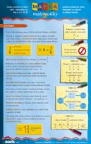 Mapka matematiky, praktická pomůcka ke studiu matematiky a k přípravě na přijímací zkoušky. Zlomky, nerovnice a rovnice - výběr z matematiky pro žáky 8. a 9. tříd ZŠ