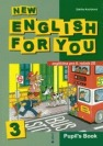 New English for You 3: pupil's book. 2002. 91 s