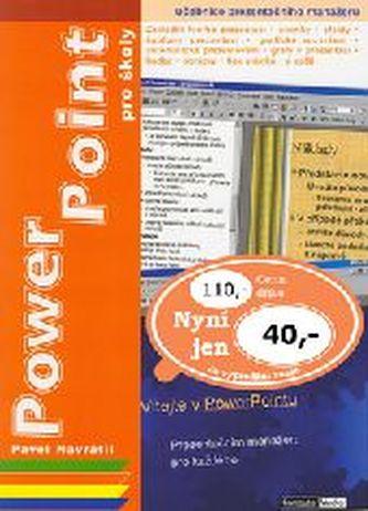 Power Point pro školy - Náhled učebnice