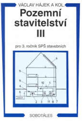 Pozemní stavitelství III. pro 3. ročník SPŠ stavebních