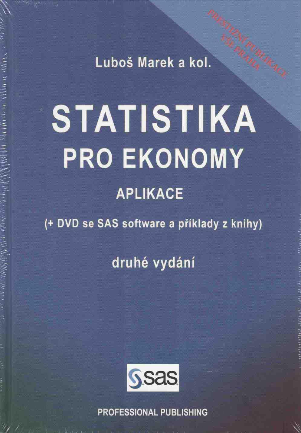 Statistika pro ekonomy: aplikace + CD - Náhled učebnice