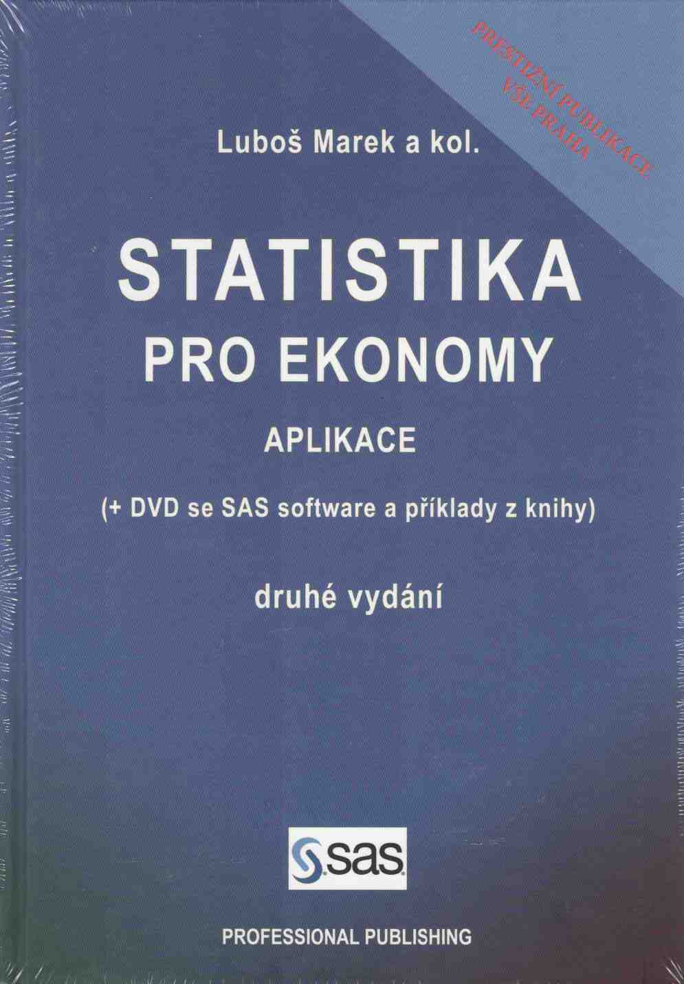 Statistika pro ekonomy: aplikace + CD
