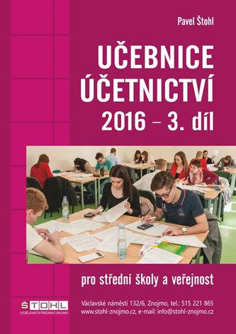 Učebnice účetnictví 2016 - 3. díl