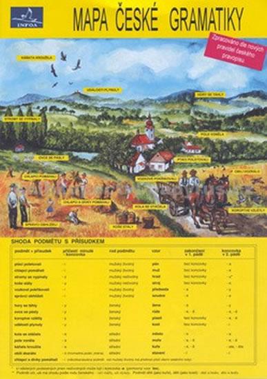 Mapa české gramatiky - Náhled učebnice