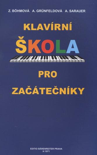 Klavírní škola pro začátečníky - Náhled učebnice